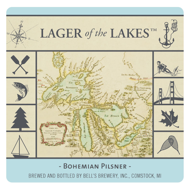 Logo of Bell's Lager of the Lakes