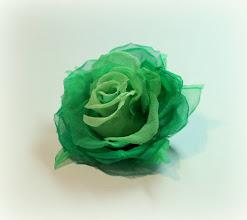 Photo: Роза из шелка