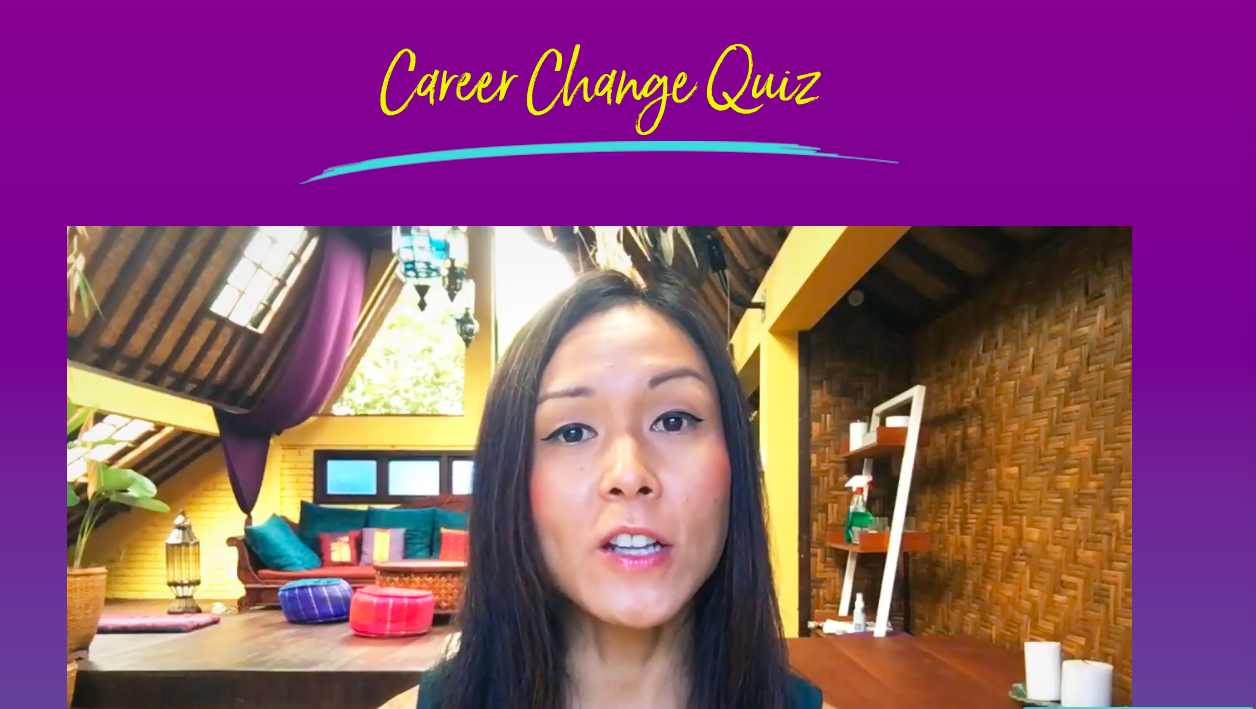 video with Career Change Quiz title