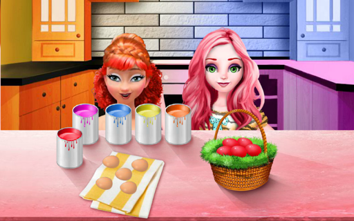 Princess Easter Eggs Painting