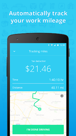 stride tax free mileage tracker applications sur google play