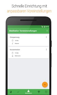 Medativo: Meditationsuhr Screenshot