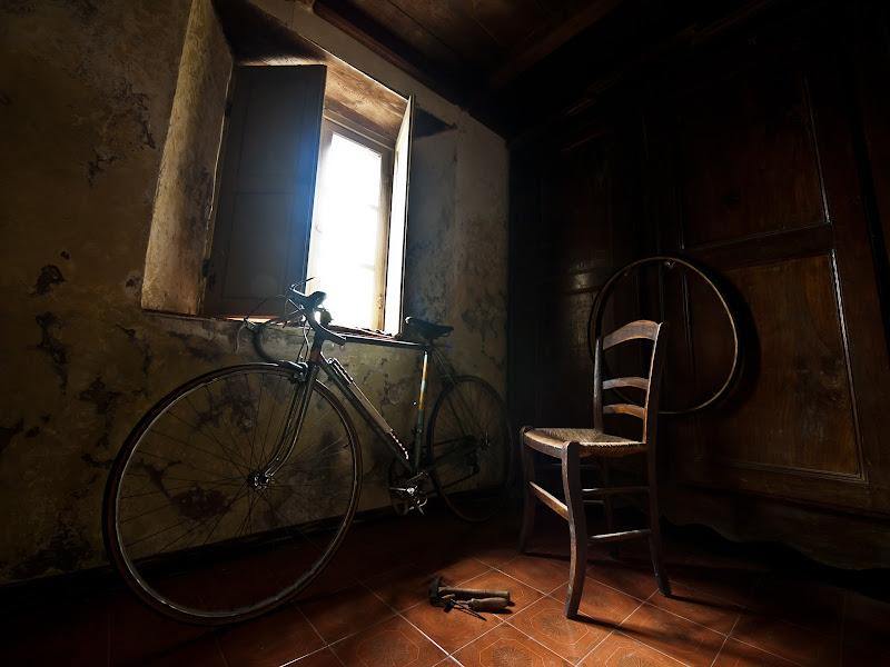 La sedia del ciclista di Andrea de Capoa