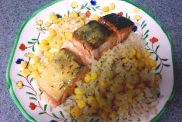 Salmon With Honey Lemon Sauce Recipe