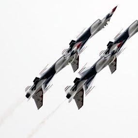 Thunderbirds by Jud Joyce - Transportation Airplanes