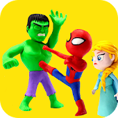 Superhero Fun Kids Stop Motion