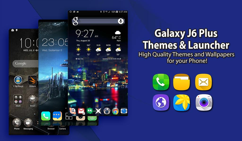 Themes For Samsung J6 Plus J6 Launcher Wallpaper 1 0 9 Apk Download Theappshub Samasung Galaxy Themes Wallpaper Samsung Launcher Apk Free