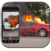 Dude your car - fire prank