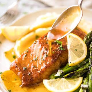 Honey Lemon Salmon Glaze Recipes.