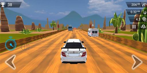 Télécharger gratuit Unreal Highway Racing APK MOD 1