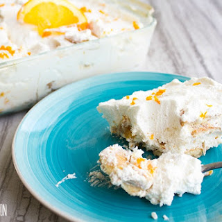 Orange Vanilla Icebox Cake.