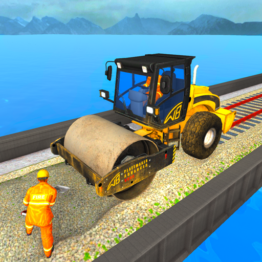 Download Train Bridge Construction: Railroad Building Sim
