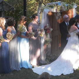Mixed marriage by Stephen Deckk - Wedding Bride & Groom ( lydia,  )