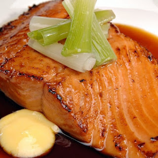 Slow Cooker Maple Salmon.
