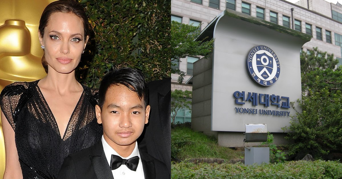 Angelina Jolie Arrived In Seoul To Drop Off Her Son For His First Semester At Yonsei University