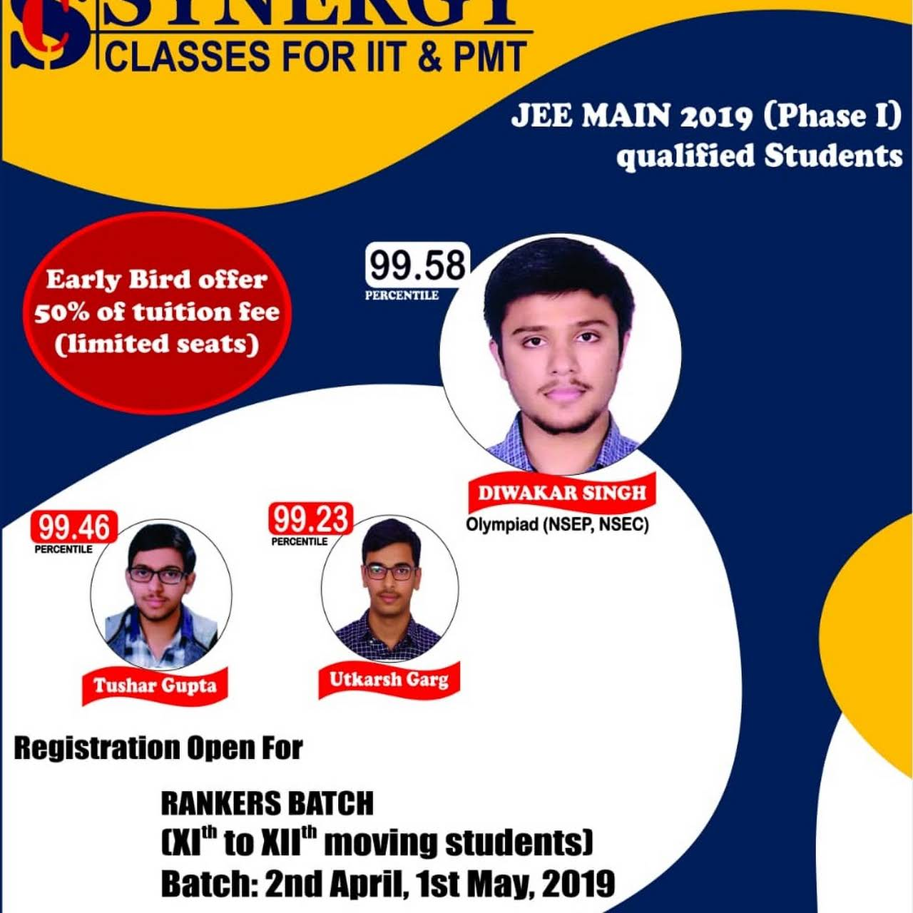 Synergy Classes For IIT & PMT - Engineering Entrance