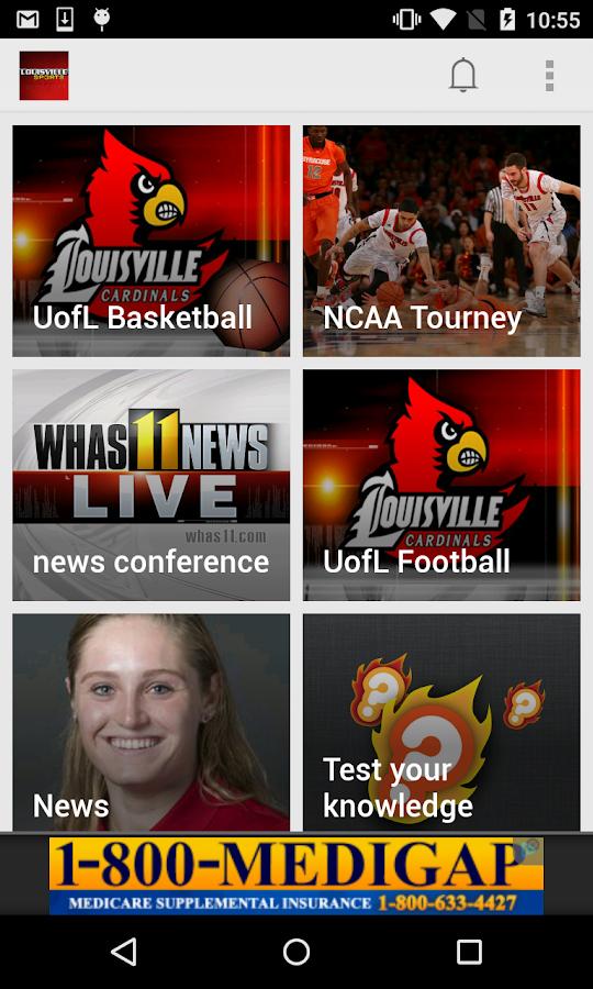 LouisvilleCollegeSports WHAS11- screenshot