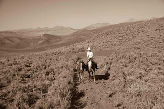 Photo: Horseback Riding in Idaho Sept. 2011