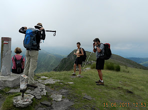 Photo: 1er sommet, 1020 m selon ma mesure