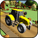 Tractor Parking icon