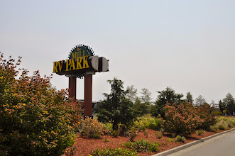 Photo: The Mill RV Park sign