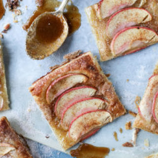 Cinnamon Sugar Apple Puff Pastry.