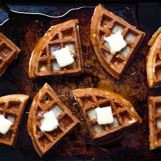 Buttermilk Vanilla Waffles