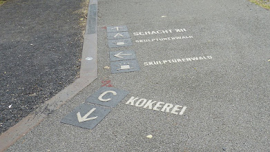 Photo: Zollverein; Skulpturenwald