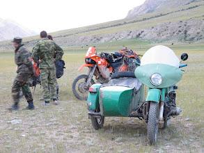 Photo: Ural naczelnika bazy wojskowej Mayda Adir.