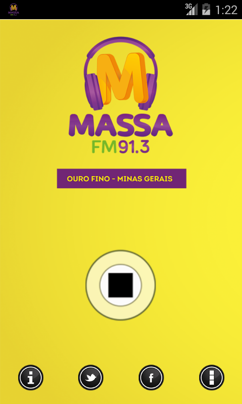 Massa FM Ouro Fino- screenshot