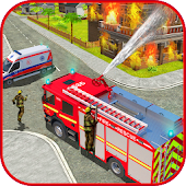 911 Police Car Simulator 3D : Emergency Games