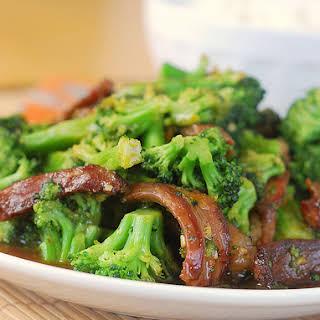 Orange Beef and Broccoli.