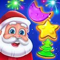 Christmas Cookie - Santa Claus's Match 3 Adventure icon