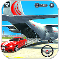 Airplane Pilot Car Transporter Games