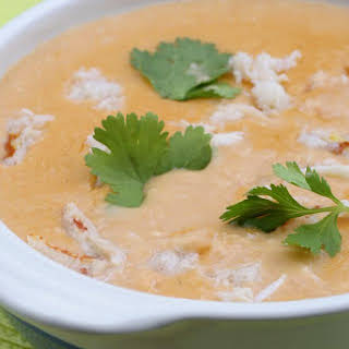 Crab and Shrimp Seafood Bisque.