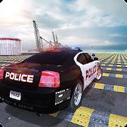 US Police Car Crash Engine Beam: 100+ Speed Bumps