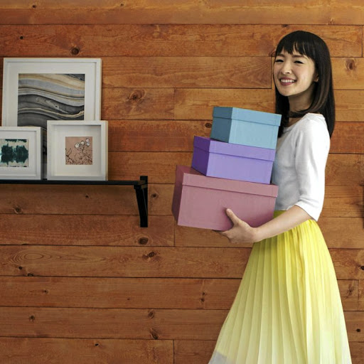 Marie Kondo's book on how to remove clutter from your life has sold millions of copies.