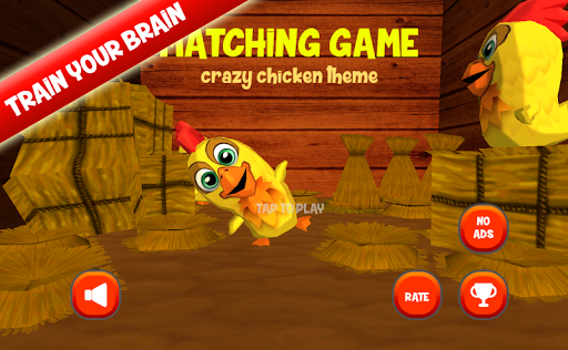 Matching Cards Memory :Chicken