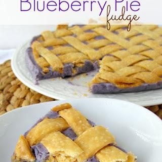 Blueberry Pie Fudge