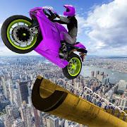 Mega Ramp Bike Stunt Racing
