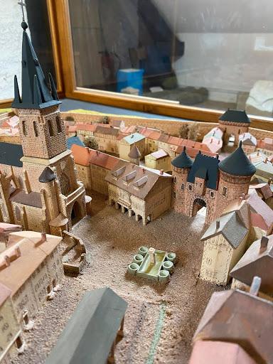 Maquette Rambervillers Musée de la Terre