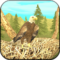 Wild Eagle Sim 3D icon