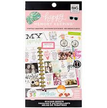 Me & My Big Ideas Happy Planner Sticker Value Pack - Everyday Memories