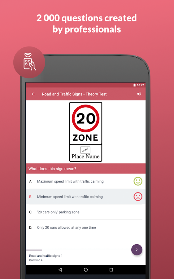 Driving test (free)- screenshot