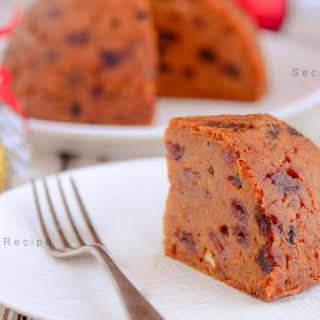 Classic Plum Pudding (Vegan Gluten-free & Dairy free).