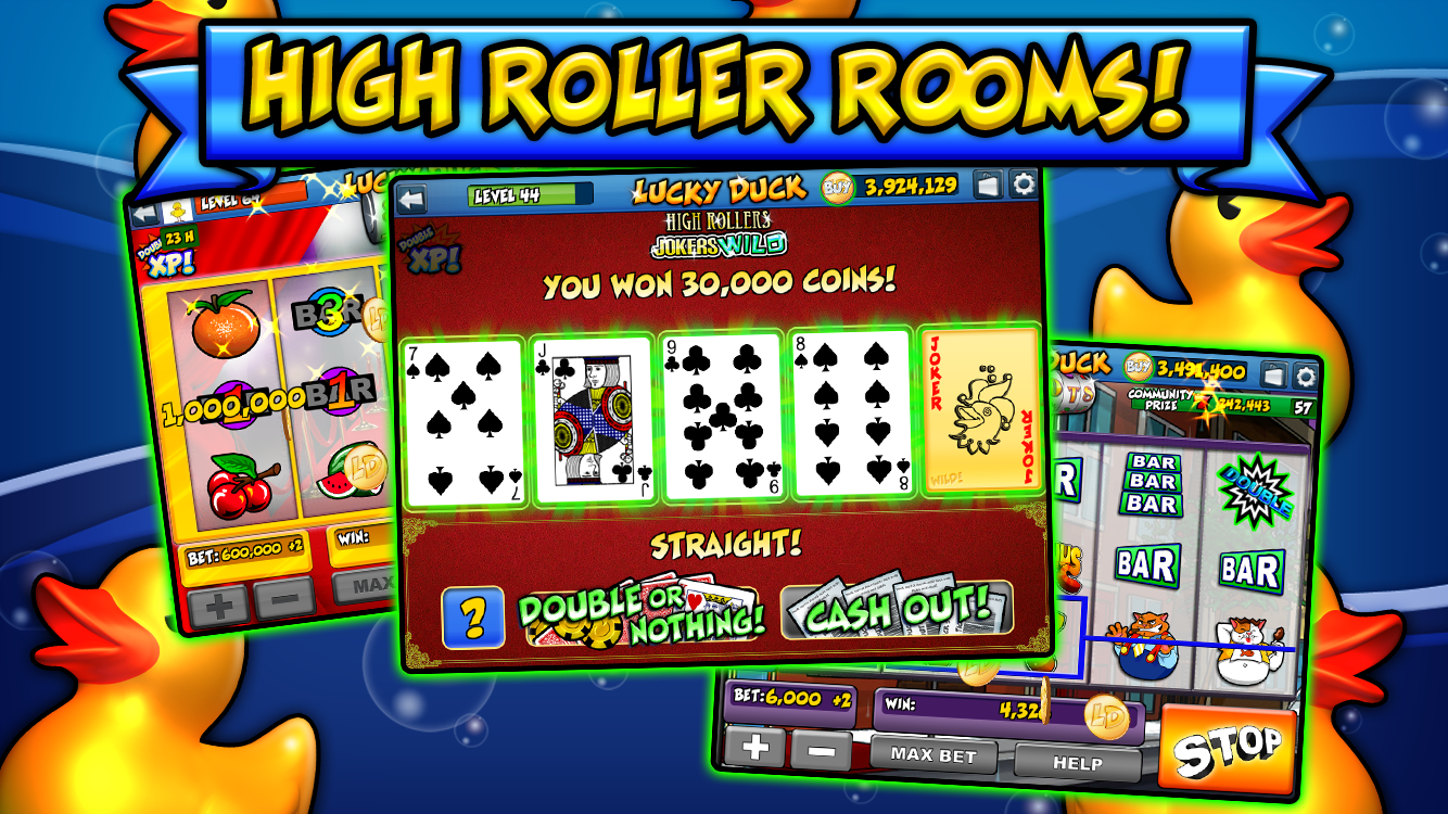Lucky duck casino game