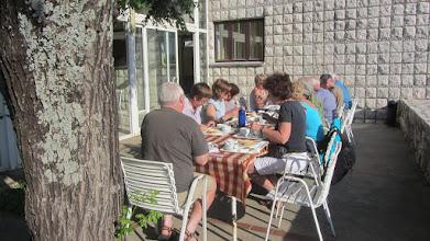 Photo: Ontbijt in de jeugdherberg van Dubrovnik