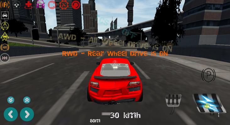 Super Car Drive Simulator 3D - screenshot