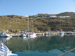 Photo: Mykinos new harbour