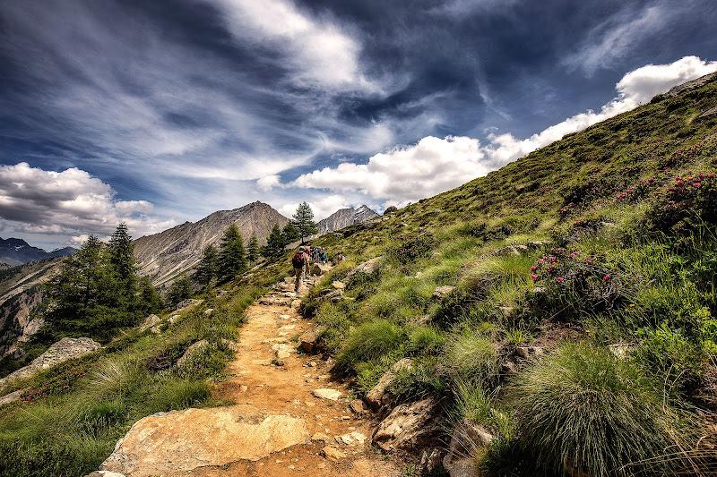 Passaggio in quota di Sergio Locatelli